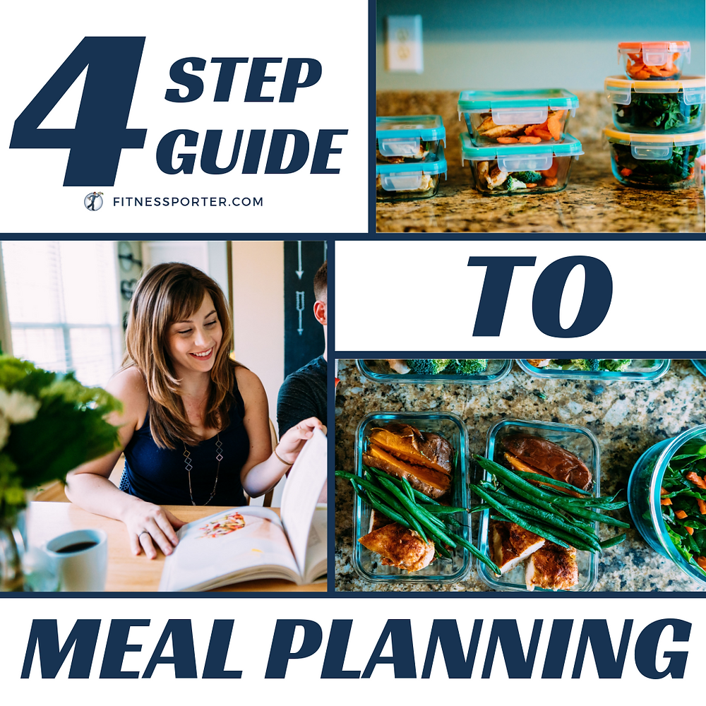 4 step guide to meal planning