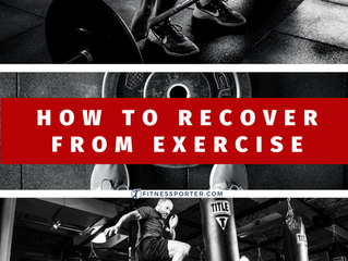How to Recover from Exercise