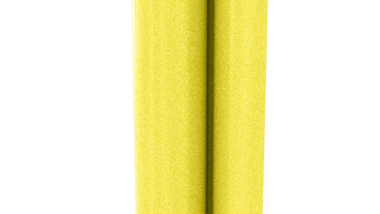 HTV B-Flex LemonYellow Glitter