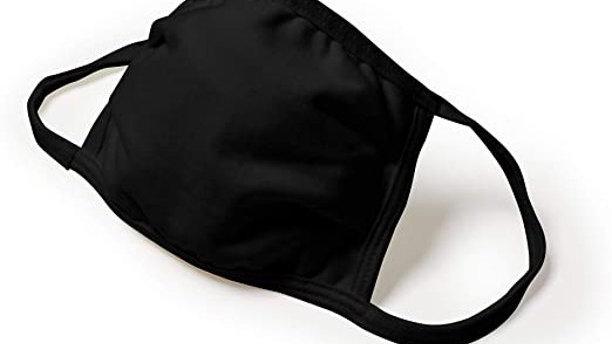 Adult black mask