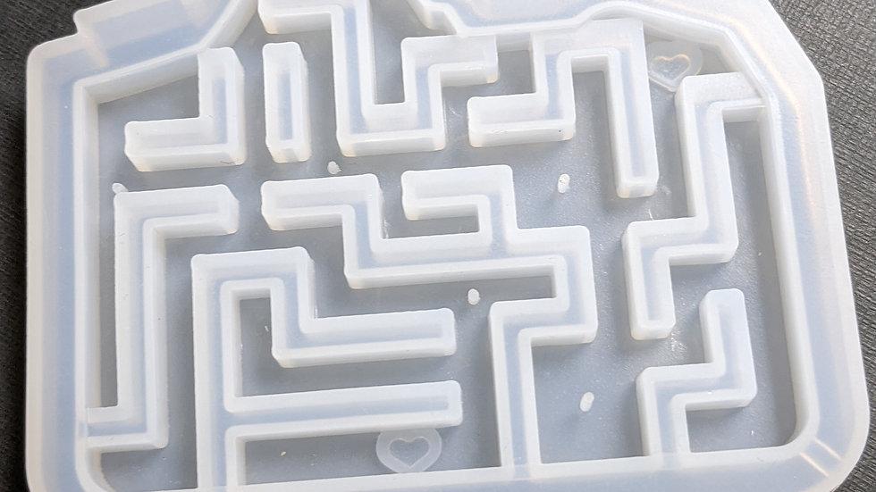 "3"" maze shaker mold"