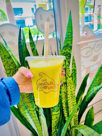 Pineapple greens Juice