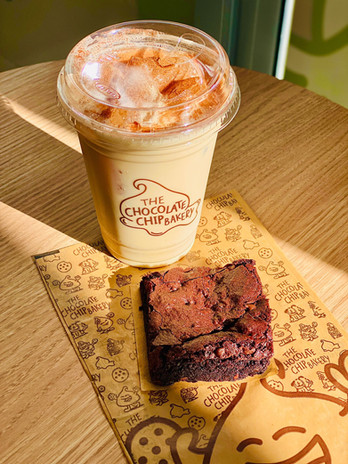 Signature Brownie & Our New Yorker Latte