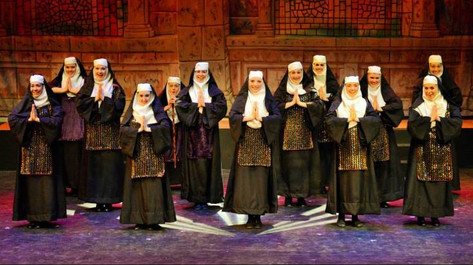"""Sister Mary Martin of Tours in """"Sister Act,"""" at Interlakes Summer Theatre"""