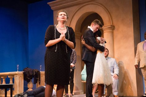 """Bella in """"Big Love,"""" at the Pittsburgh Playhouse"""