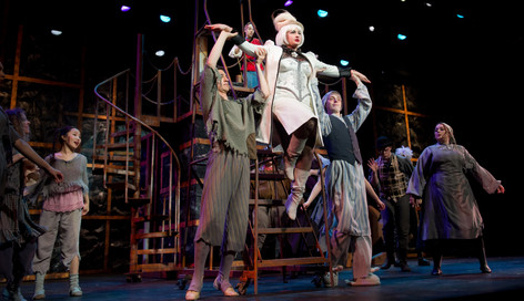 """Mayor Imperia in """"Stone Soup,"""" at the Pittsburgh Playhouse"""
