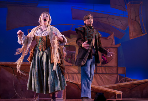 """Jack's Mother in """"Into The Woods"""" at the Pittsburgh Playhouse"""