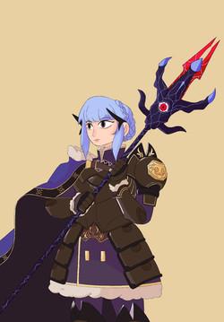 FANART: Marianne, Dark Knight of Rigel