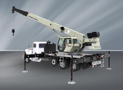 Manitowoc stellt einen neuen LKW-Aufbaukran der Serie NBT40-2 von National Crane vor