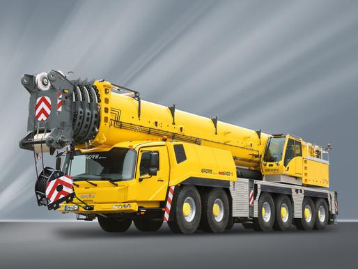 Manitowoc launches new Grove GMK6400-1 all-terrain crane at CONEXPO