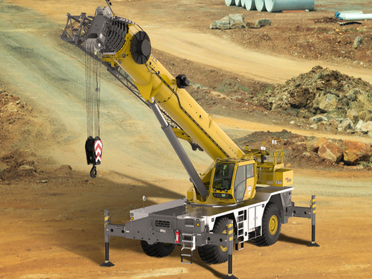 Manitowoc unveils Grove GRT8120 rough-terrain crane at CONEXPO 2020