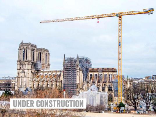 Six chantiers remarquables sur des lieux de culte