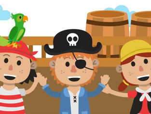 Learning Ladybirds - Pirate Topic - Arrgghh!!