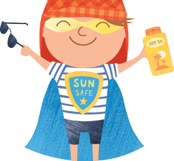 Stay safe in the sun this summer term
