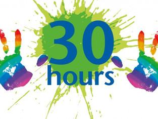 Reminder- Thirty hours free childcare