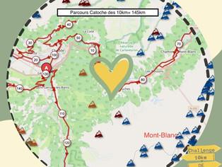 Le challenge des 10km confinés du lac de Passy au Praz