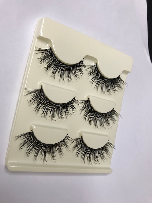 Makeup Strip Lash 3 Pairs ( series 16)