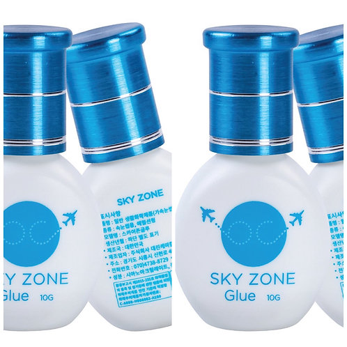 5 x SKY ZONE adhesive