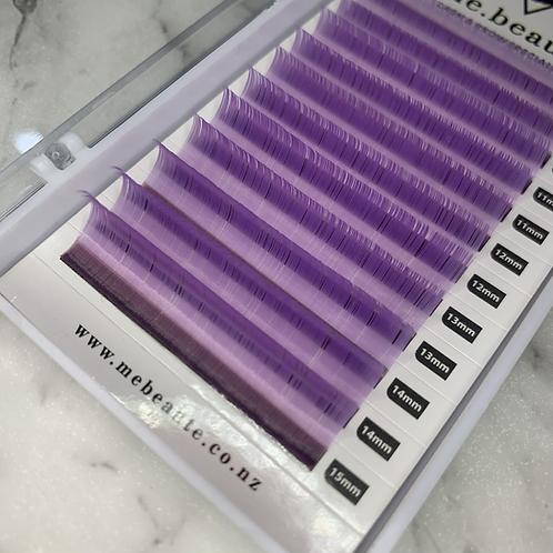 D(0.15) - Mix Classic Lashes 8-15mm -LIGHT PURPLE