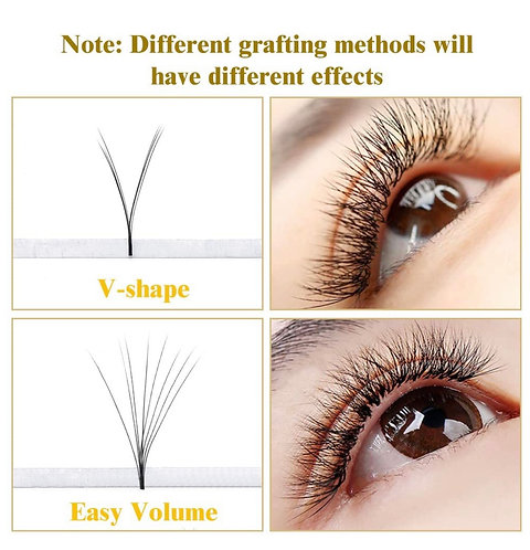 VV - Shape Auto Fan Lash Extension mix size 8-15mm