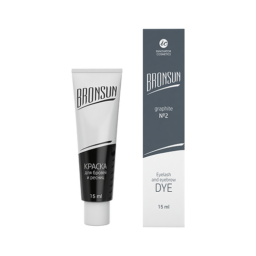 Bronsun Eyelash and Eyebrow Dye - Graphite