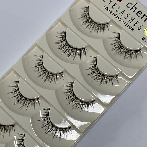 Strip Lashes ( 5 PAIRS per box ) - 3D T13