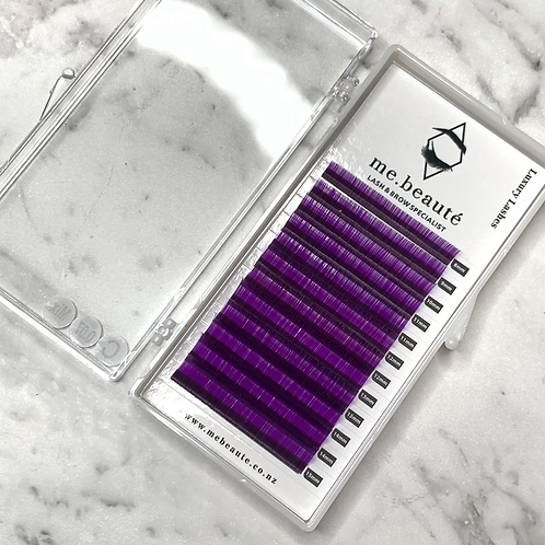 C (0.07 ) - Russian Volume PURPLE Lashes Mix Tray 8-15mm