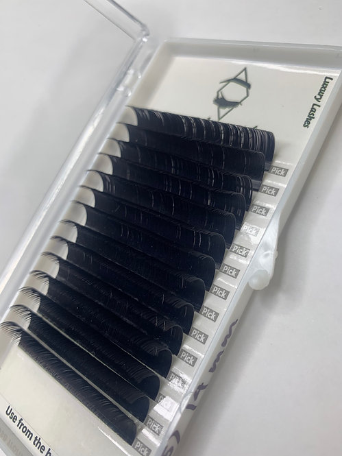 D ( 0.15 ) - CLASSIC SILK LASHES SINGLE SIZE TRAY