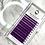 Thumbnail: D(0.15 ) - Classic PURPLE lashes Mix Size 8-15mm