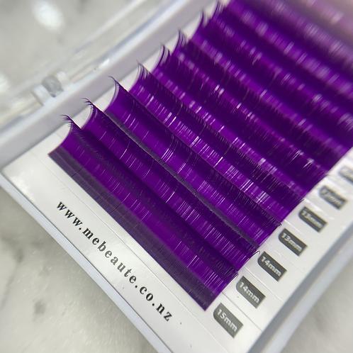 D(0.15 ) - Classic PURPLE lashes Mix Size 8-15mm