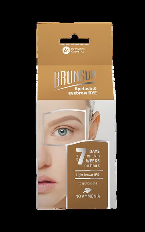Bronsun Eyelash & Eyebrow Dye Homekit - Light Brown