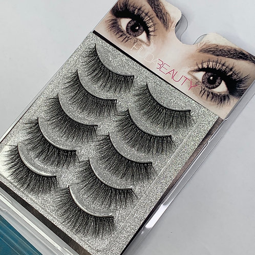 Huda Beauty Strip Lashes ( 5 PAIRS ) per box - H04