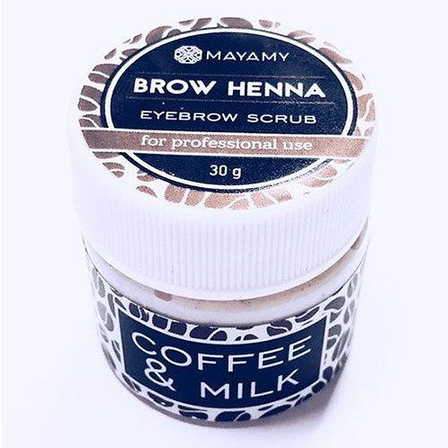 Mayamy Brow Henna - Eyebrow Scrub