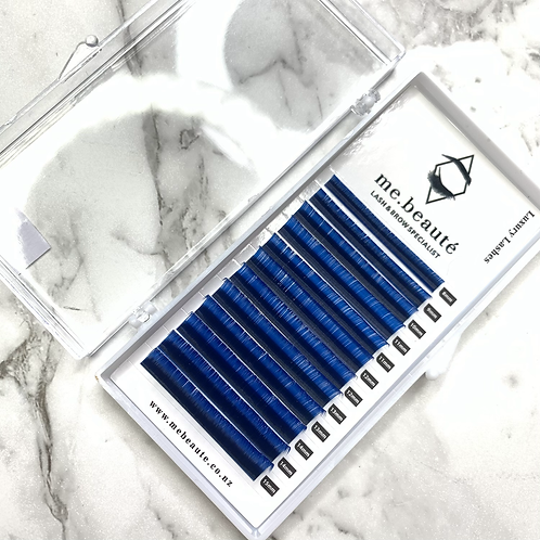 D(0.07 ) - Russian Volume BLUE lashes mix size 8-15mm