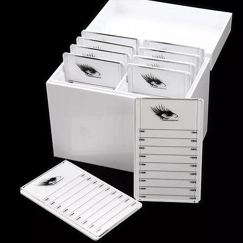 Eyelashes Extensions Storage Box ( 10 Pallets)