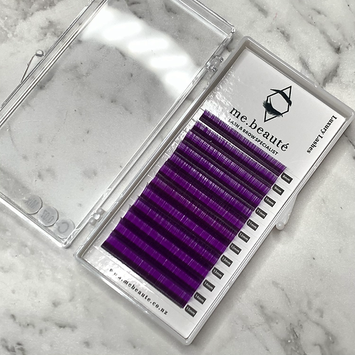 D(0.07 ) - Russian Volume PURPLE Lashes Mix Size 8-15mm