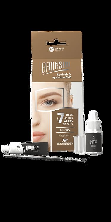 Bronsun Eyelash & Eyebrow Dye Homekit - Brown