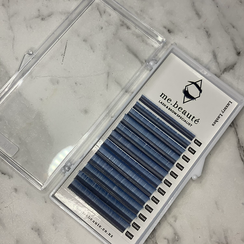 D (0.15) - Mix Classic Lashes 8-15mm - Light Blue