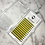 Thumbnail: D(0.15 ) - Mix Classic Lashes 8-15mm - Light Yellow