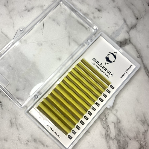 D(0.15 ) - Mix Classic Lashes 8-15mm - Light Yellow