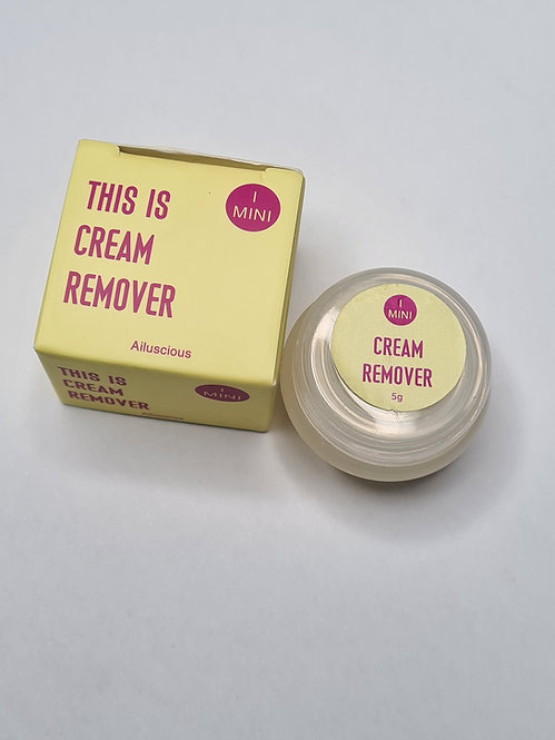 Mini Cream Remover 5g