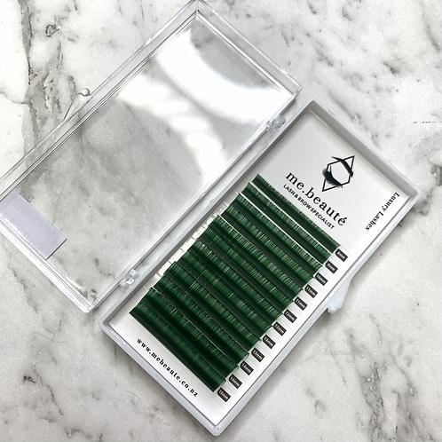D(0.15)- Classic Green Lashes Mix 8-15mm