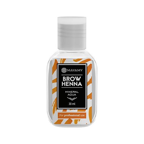Mayamy Brow Henna - Mineral Aqua