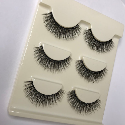 Makeup Strip Lash 3 Pairs ( series 18)
