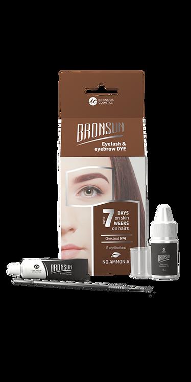 Bronsun Eyelash & Eyebrow Dye Homekit- Chestnut