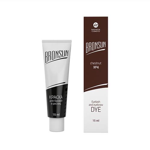 Bronsun Eyelash and Eyebrows Dye - Chestnut