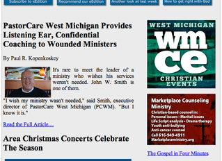PCWM in the Christian News