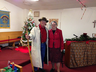 Sister Norma Walker Ministers to Native People