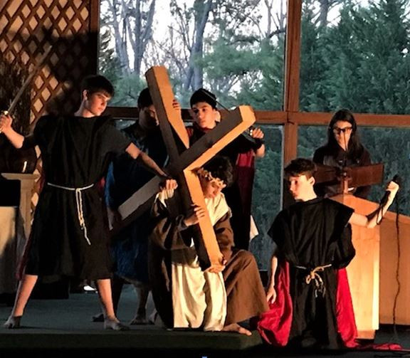 Middle School Living Stations of the Cross 2020