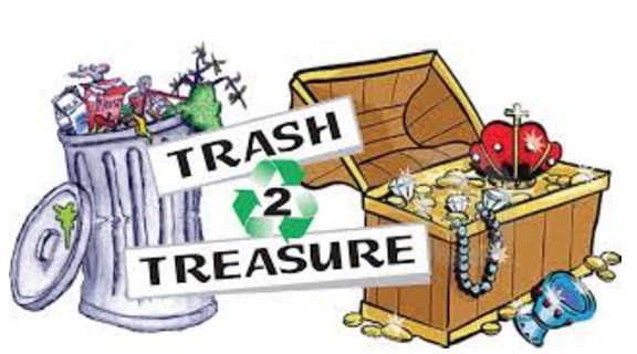 Trash and Treasure Sale is this Weekend May 5th and 6th!